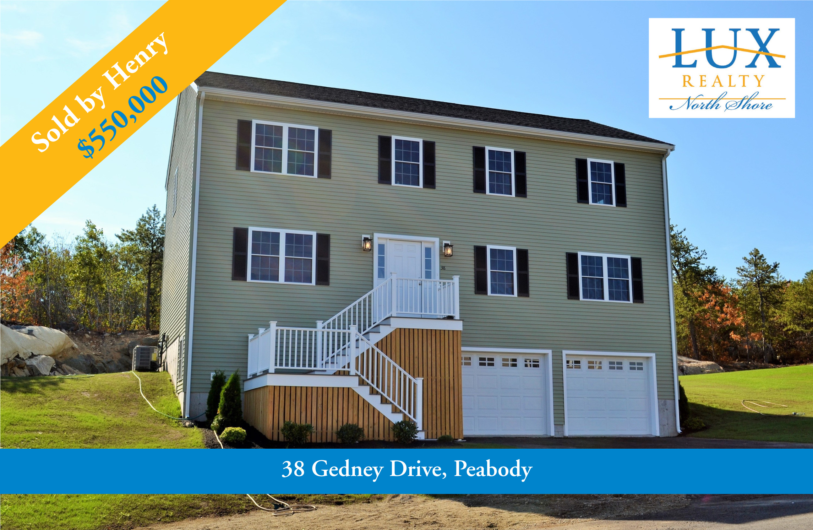 Gedney Drive, Peabody, MA