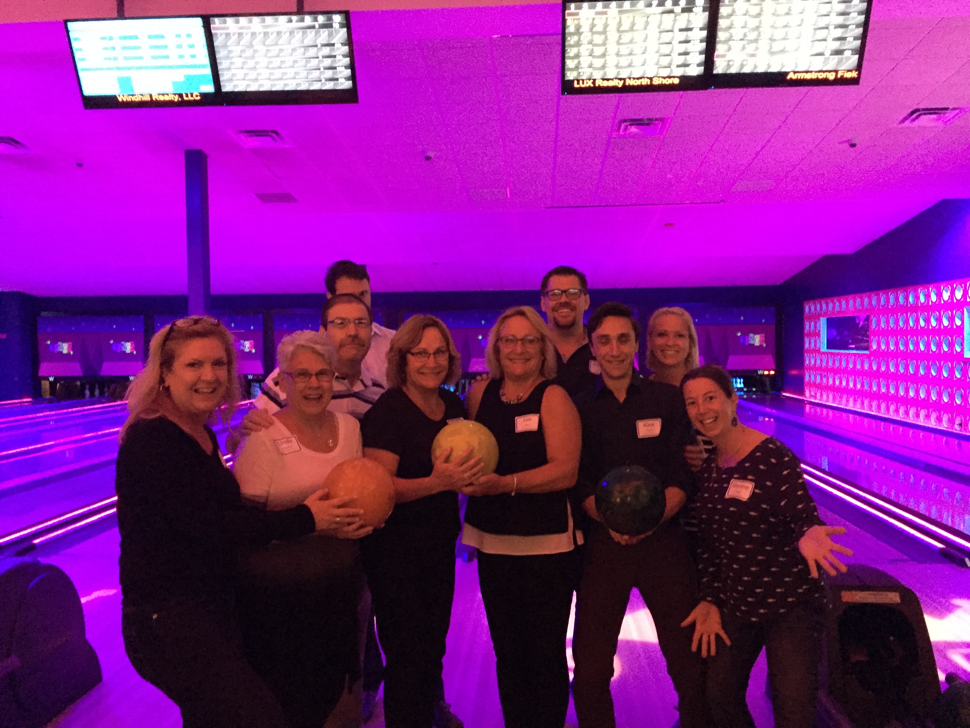 LUX Realty Bowling at Kings in Lynnfield