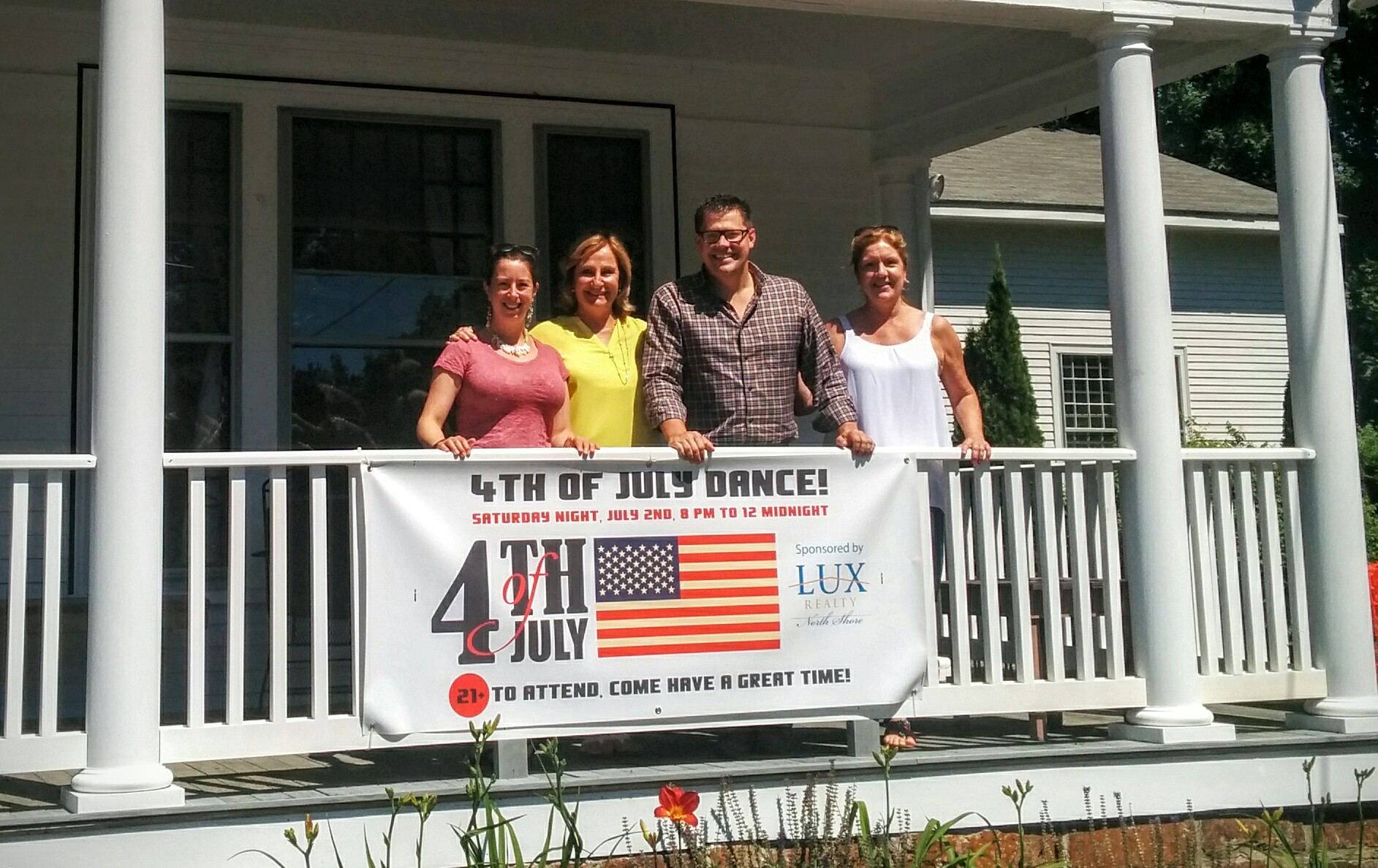 Team LUX at Hastings House Beverly Farms MA