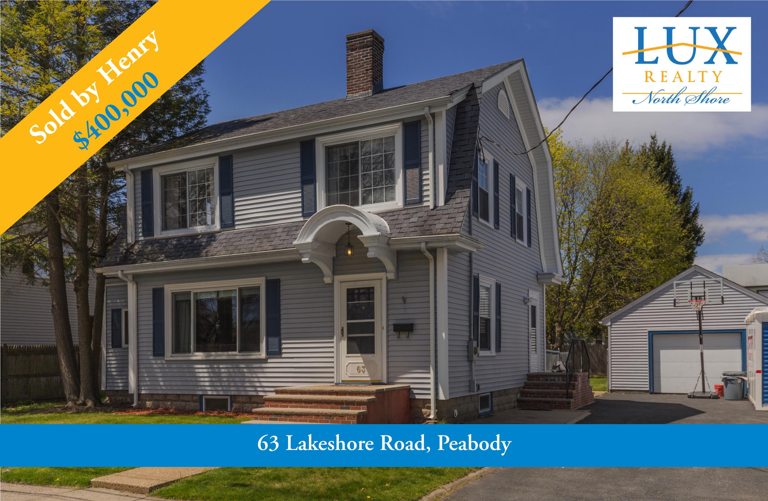 Lakeshore Road Peabody