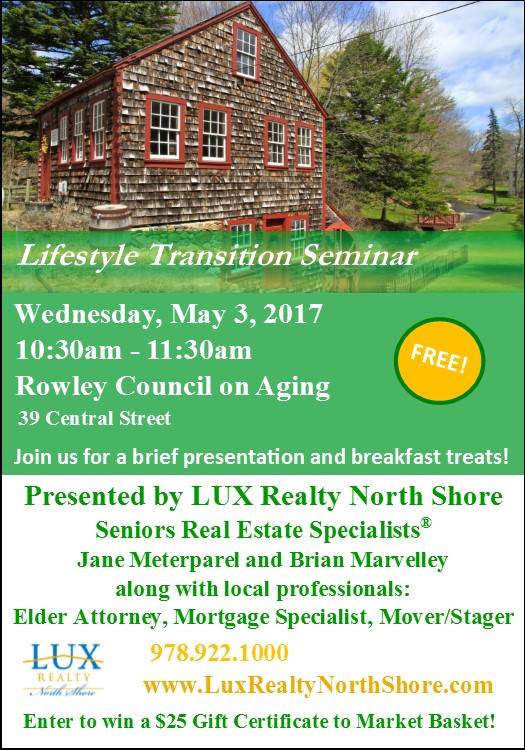 lifestyle transition seminar rowley ma