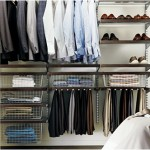 Beautifully Organized Closet by Container Store