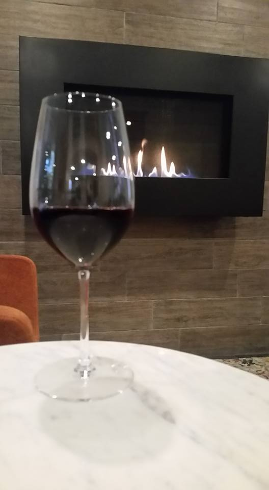 Glass of Wine - Celebrating New Years in Reston