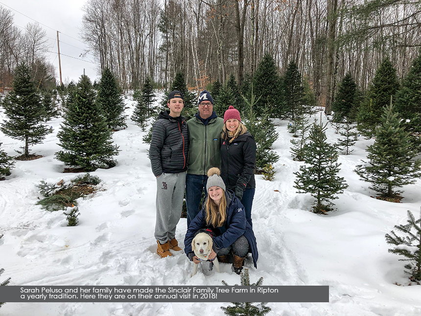 the Peluso Family at Sinclair Family Farm, Ripton, 2018