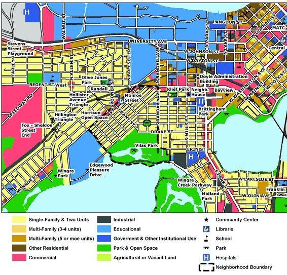 Vilas Map