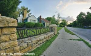 Westmorland Neighborhood Sign