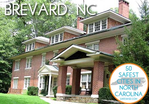 Safest Cities in North Carolina Brevard