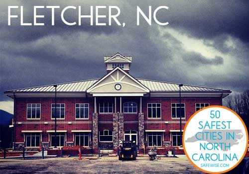 Safest Cities in North Carolina Fletcher