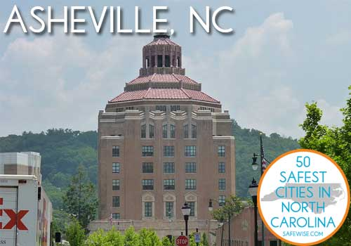 Safest Cities in North Carolina Asheville