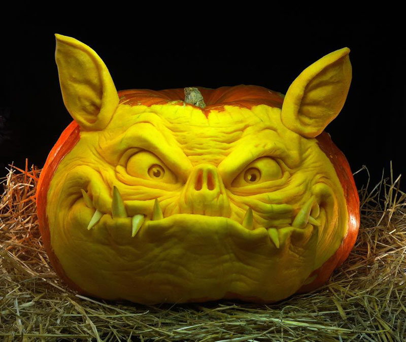 pumpkin carving by ray villafane studios (7)