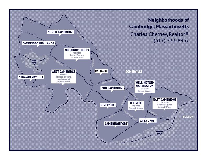 Map of Cambridge Neighborhoods | Cambridge, Machusetts Map Cambridge Machusetts Map on
