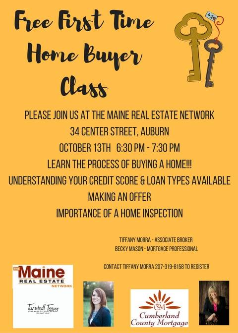 First Time Home Buyer Seminar - Maine