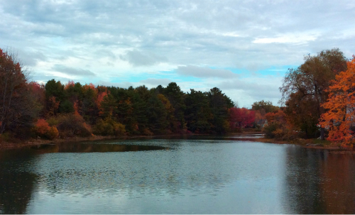 Fall in Kennebunkport Maine