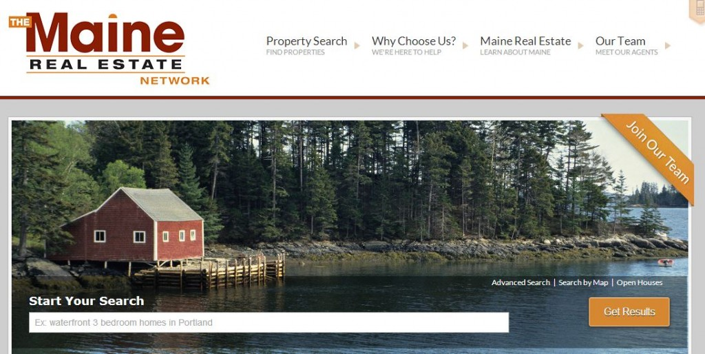Maine Real Estate Search