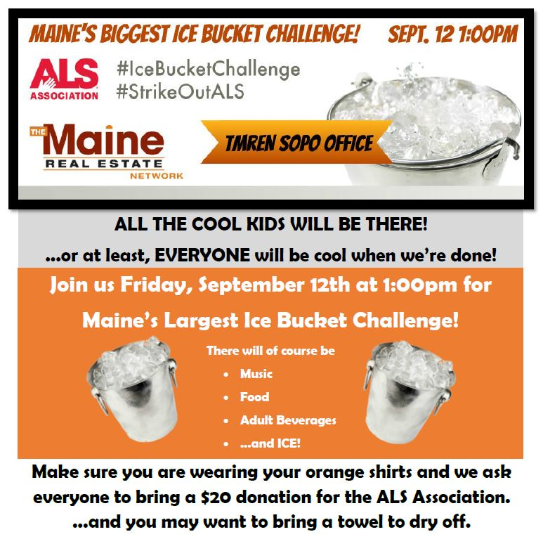 maine's biggest ice bucket challenge | TMREN