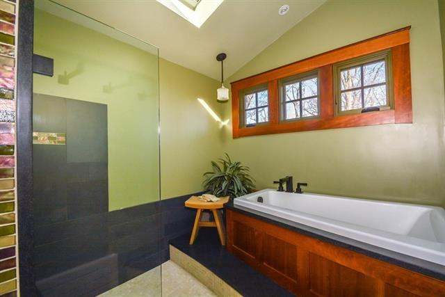 Gorgeous Updated Bathroom at 129 Howard Street Reading home for sale