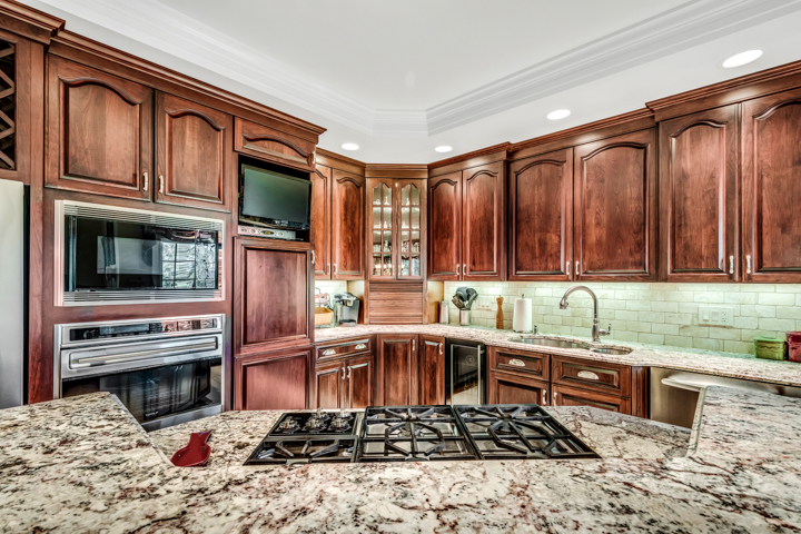 Kitchen at Andover Country Club home