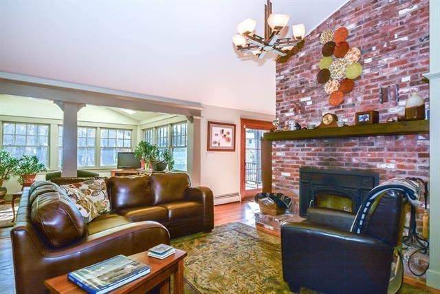 Living Room at 129 Howard Street Reading MA house for sale