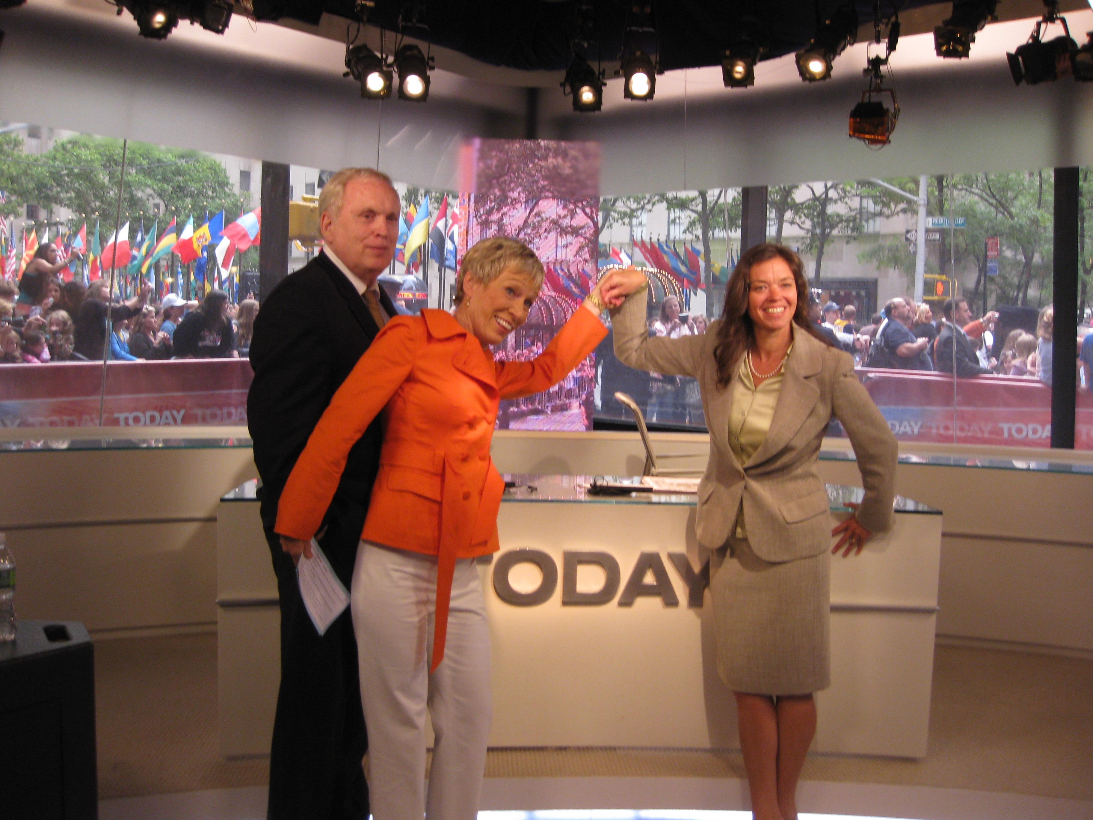 Richard Higgins, Barbara Corcoran and Julie Vanderblue