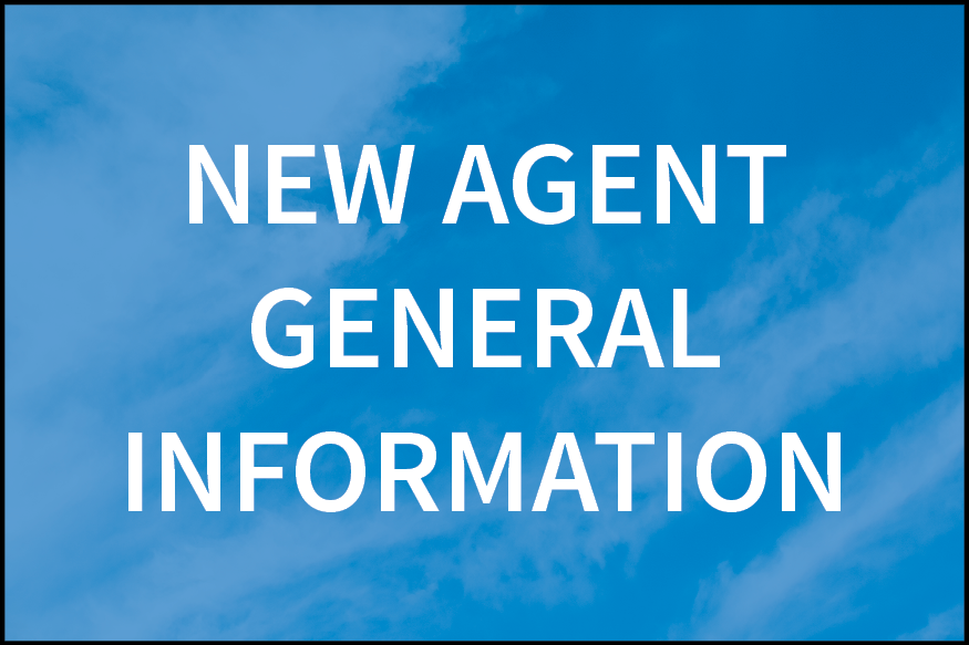 new agent general info