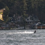 Kite Surfer on Lake Winnipesaukee