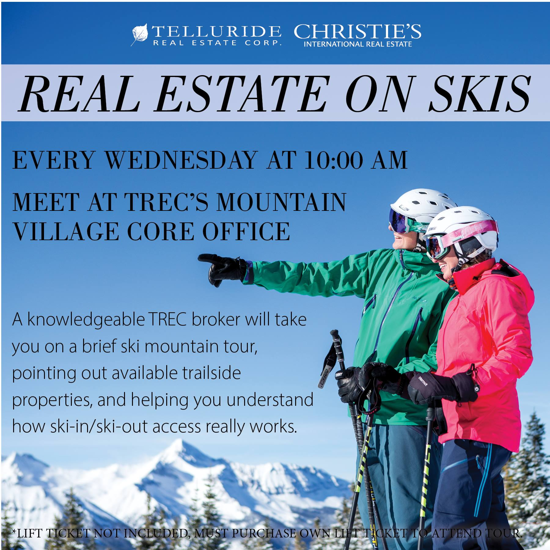Telluride Real Estate on Skis