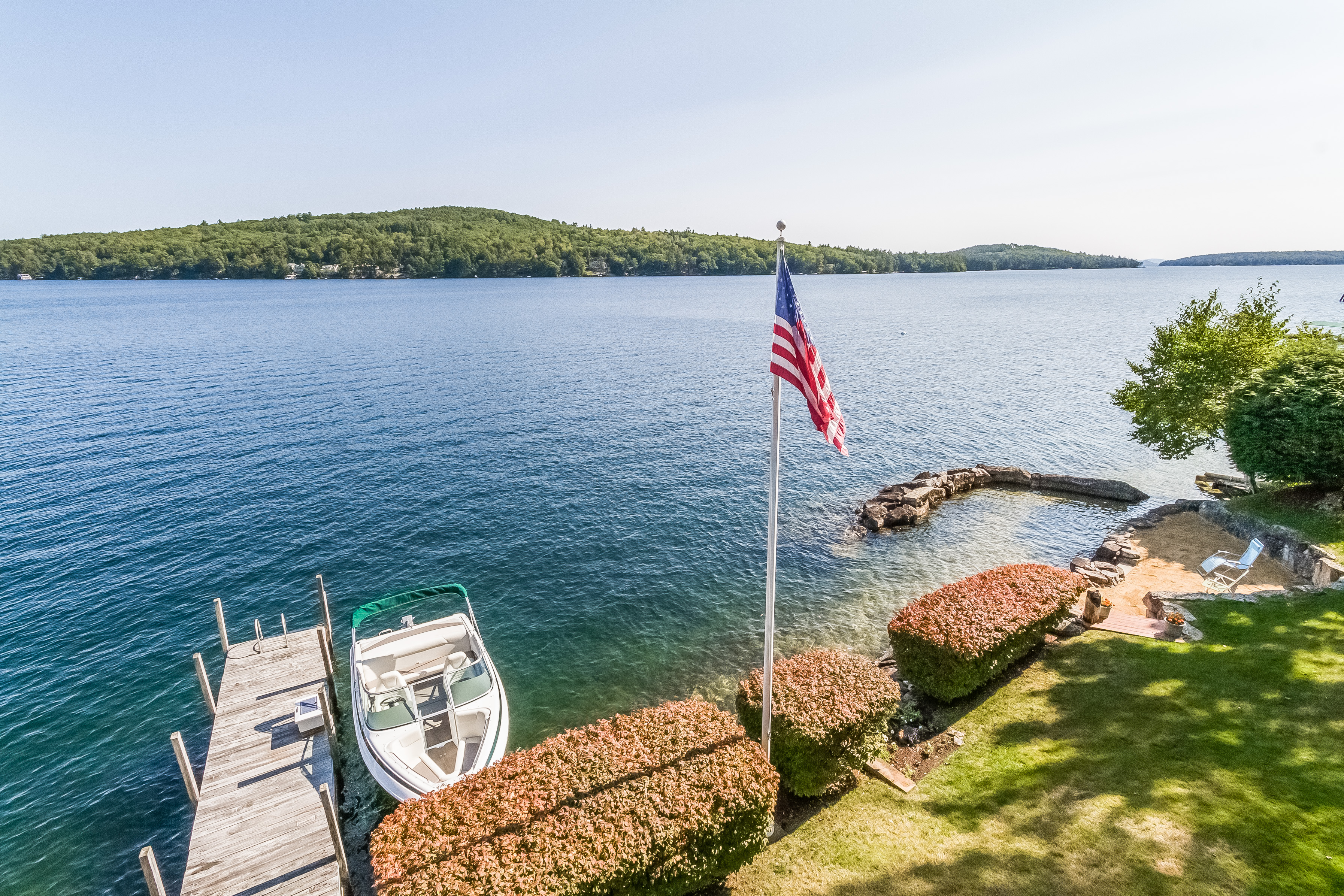 101 Neal Shore Meredith, NH Offers Panoramic Winnipesaukee Views