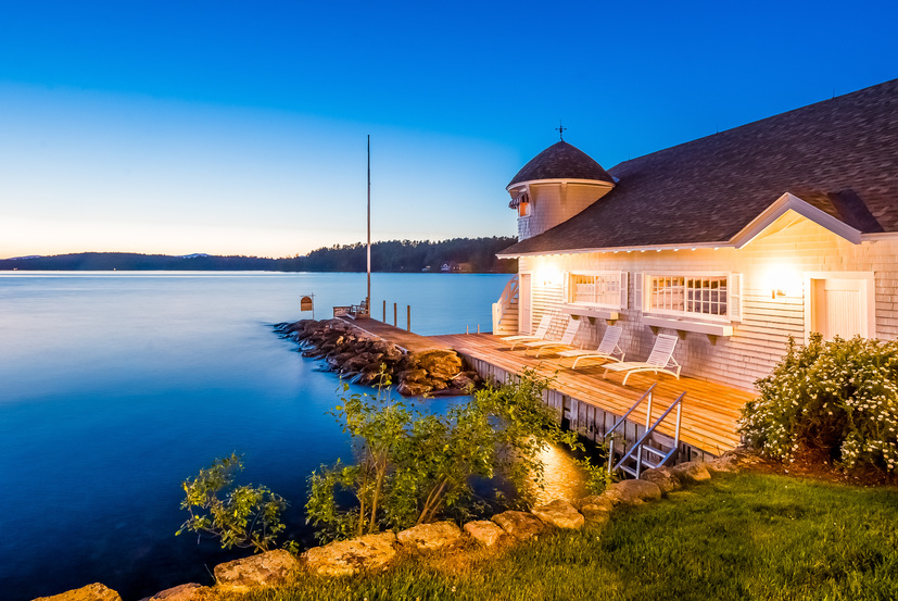 58 Eagelmere offs views of other stunning homes with boathouse and views down the lake.