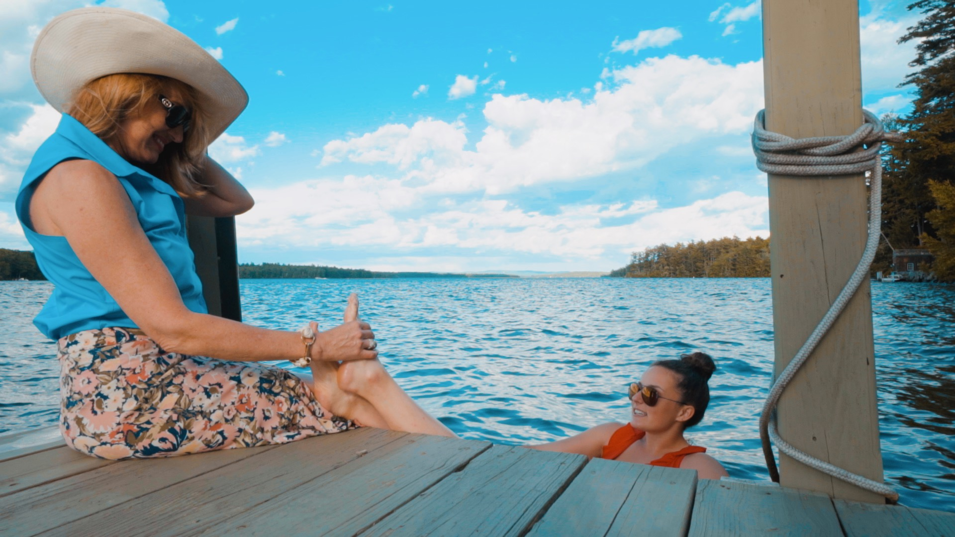 Actor Photo from 144 Veasey Shore Road Lake Winnipesaukee Lifestyle Video