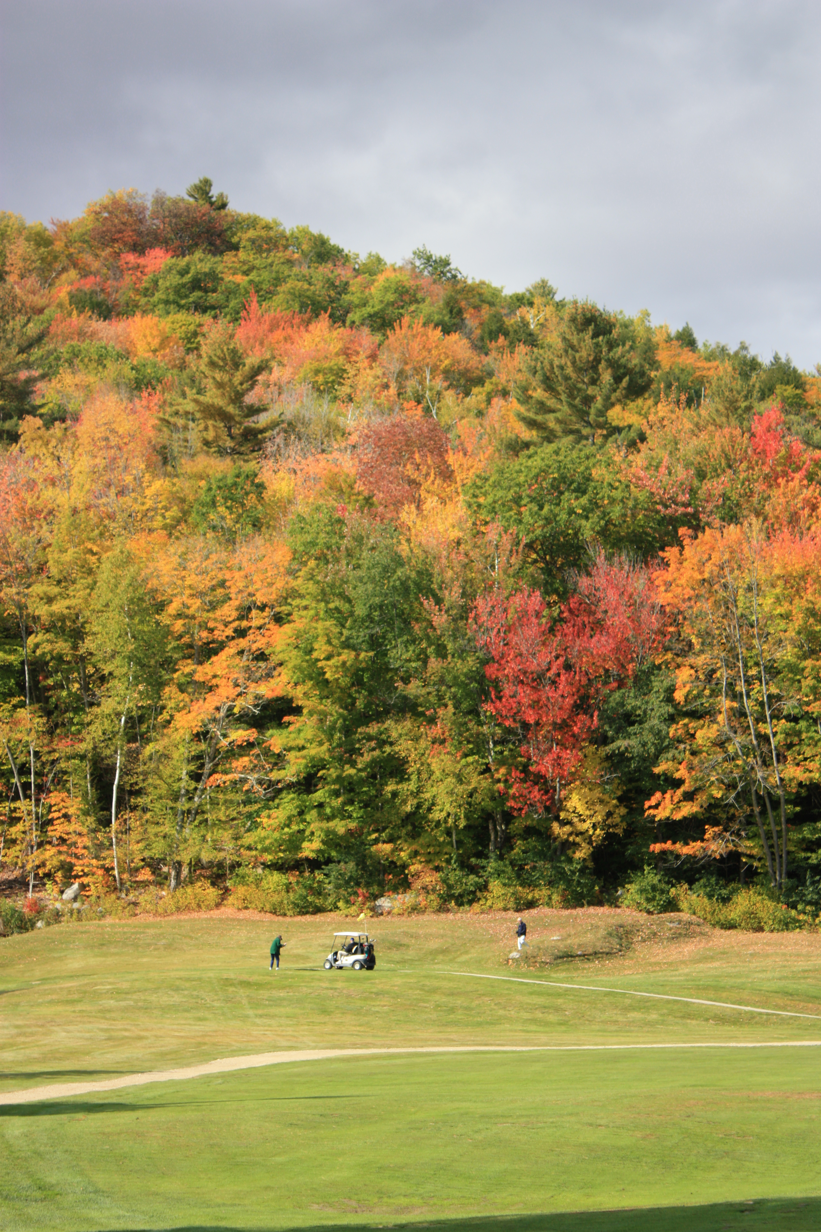 Golfing in the Lakes Region