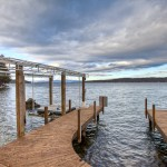 Lake Winnipesaukee Home for Sale - 15 Olive Street's U shaped Dock