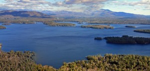 Winnipesaukee Aerial View Near Hornet's Nest Point