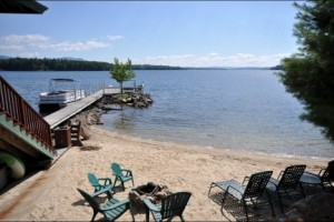128 Veasey Winnipesaukee beach and 100 ft. permanent dock