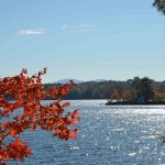 Lake Winnipesaukee - View of Twin Islands from Senter Cove
