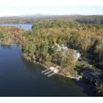 Aerial Photo of Lakeside Manor, Wolfeboro, NH on Winnipesaukee