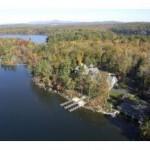 Aerial Photo of Lakeside Manor, Wolfeboro, NH on Winnipesaukee