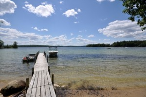 The gorgeous waterfront and westerly breezes make this property enchanting.