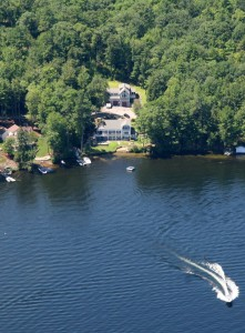 Boat traffic at 112 & 115 Deerhaven stays a long distance from the property, giving you the quiet enjoyment of the lake most lakefront buyers want.