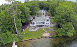 The quiet, central location on the lake is quintessential Moultonborough Winnipesaukee.