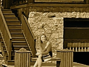 Grace Kelly enjoyed friends and quiet moments at 128 Veasey Shore Road Meredith, NH.