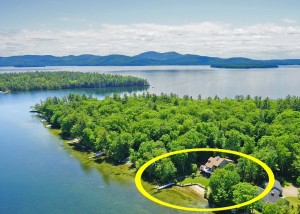 Ideal Winnipesaukee Setting at 131 Windermere Road Moultonborough NH.