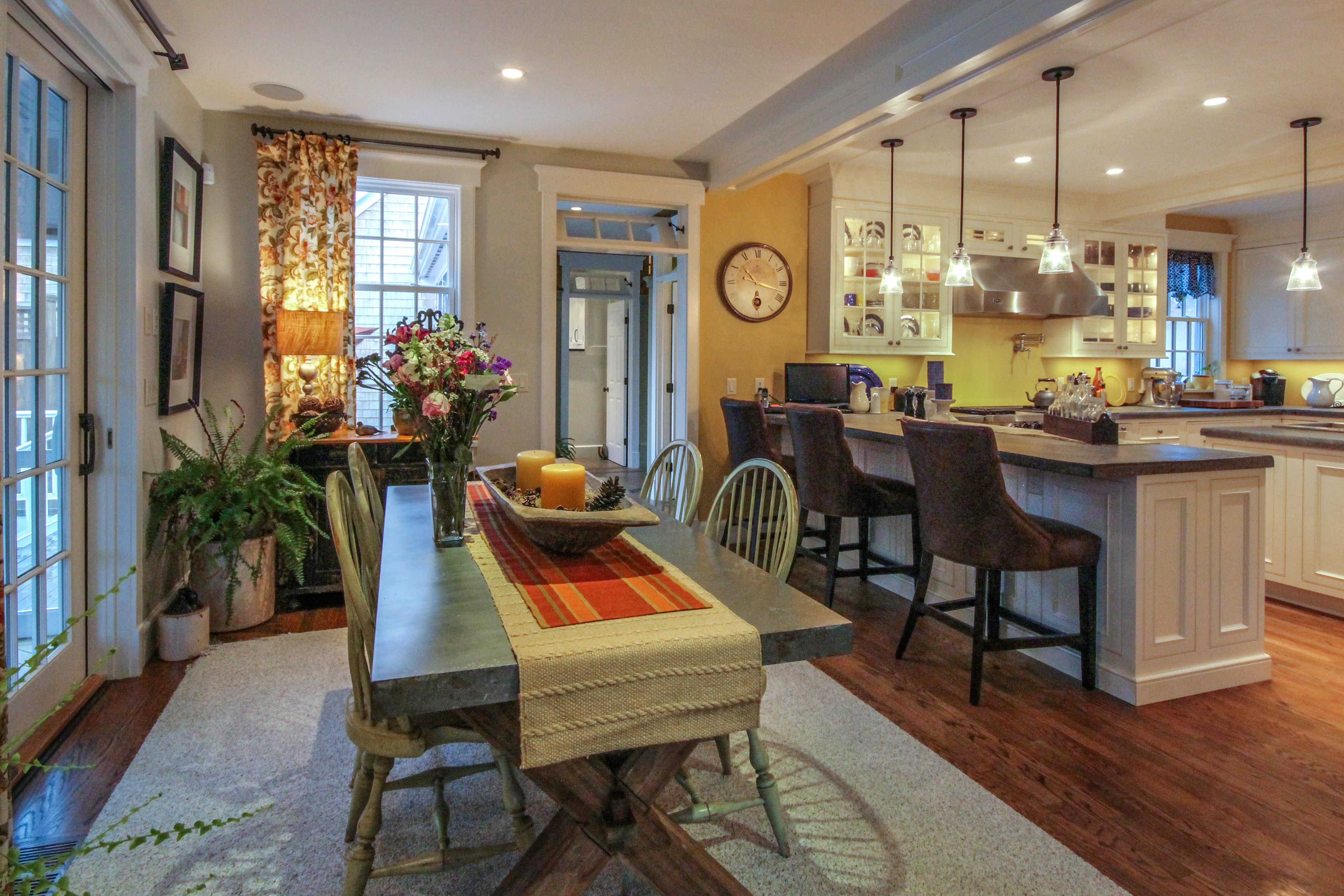 Impressive Chefs Kitchen Is Adjacent To The Dining Area Which Leads A Screened Porch