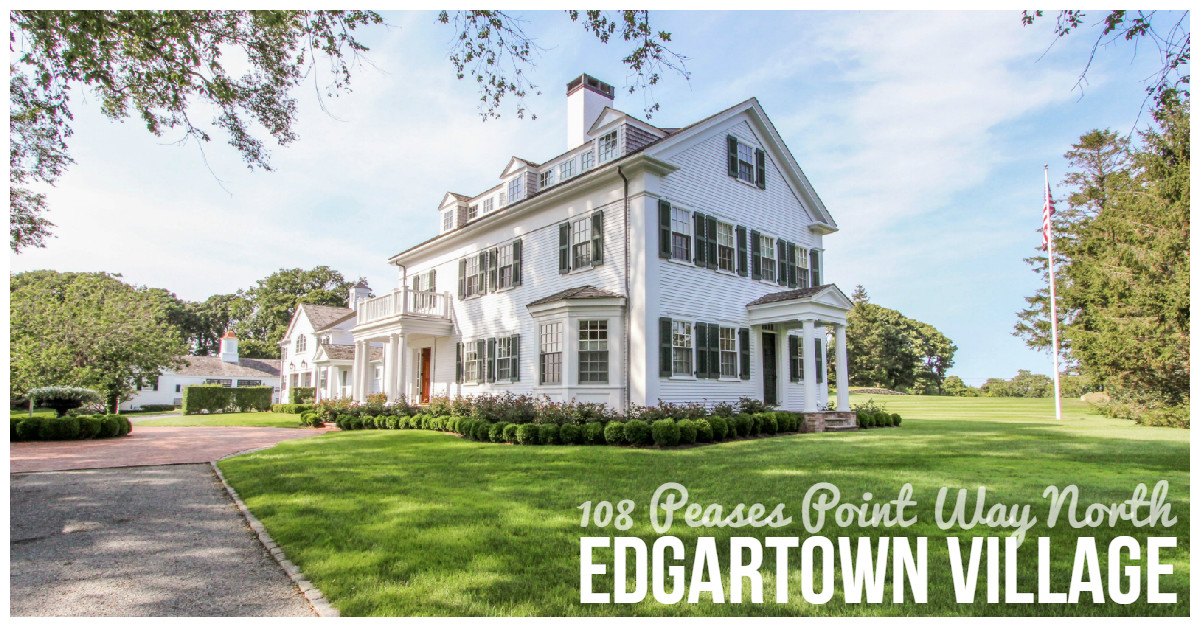 108 Peases Point Way North in Edgartown