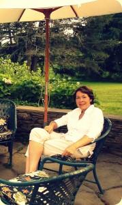Carolyn Umlauf relaxing in the Berkshires