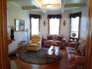 Berkshire home for sale coffered ceiling Williamstown MA