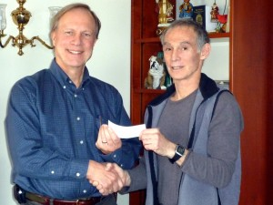 Harsch Real estate donates to charity
