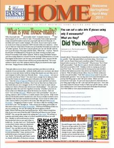 Harsch Home Newsletter jpg