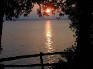 View of Lake Champlain VT