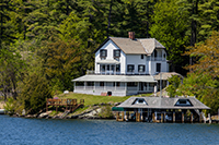 Waterfront Home on Lake Champlain in Vermont