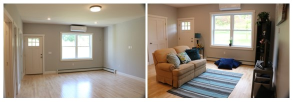 Unstaged Living Area vs. Staged Living Area